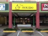 Strong Coffee and Flaky Pastry at Cafe Molido