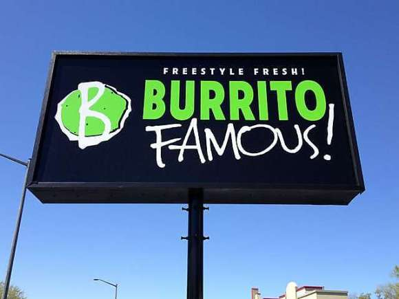 Burrito Famous - Gainesville, FL - Photo by Mike Bonfanti