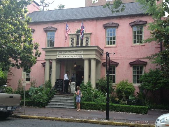 The Olde Pink House - Savannah, GA - Photo by Mike Bonfanti