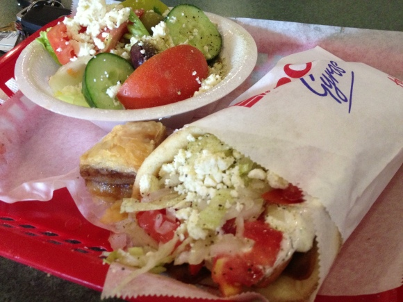 Little Athens Gyro - Tallahassee, FL - Photo by Mike Bonfanti