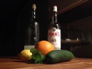 Pimm's Cup - Photo by Mike Bonfanti