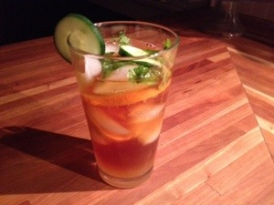 Pimm's Cup - Photo by Mike Bonfanti