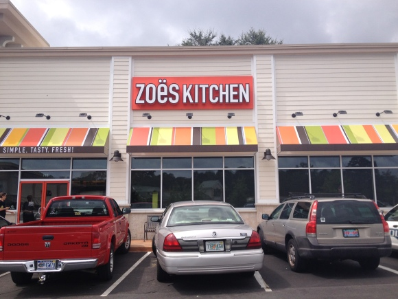 Zoë's Kitchen - Tallahassee, FL - Photo by Mike Bonfanti