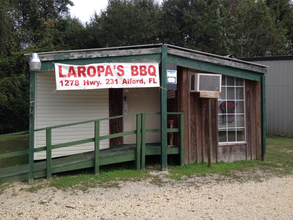 Laropa's BBQ - Alford, FL - Photo by Mike Bonfanti