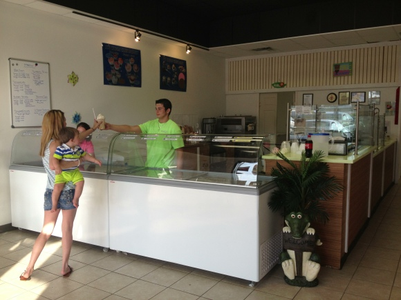 U-Scream Ice Cream & Smoothies - Lake City, FL - Photo by Mike Bonfanti