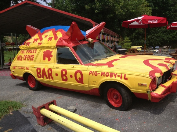 Poole's Bar-B-Q - East Ellijay, GA - Photo by Mike Bonfanti