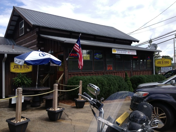 Joe's Barbeque - Blue Ridge, GA - Photo by Mike Bonfanti