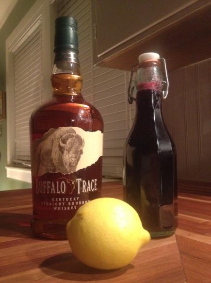 Blueberry Whiskey Sour - Photo by Mike Bonfanti