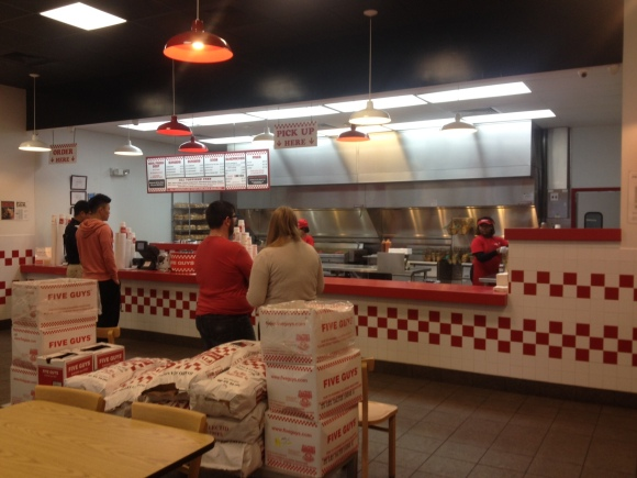 Five Guys Burgers and Fries - Tallahassee, FL - Photo by Mike Bonfanti
