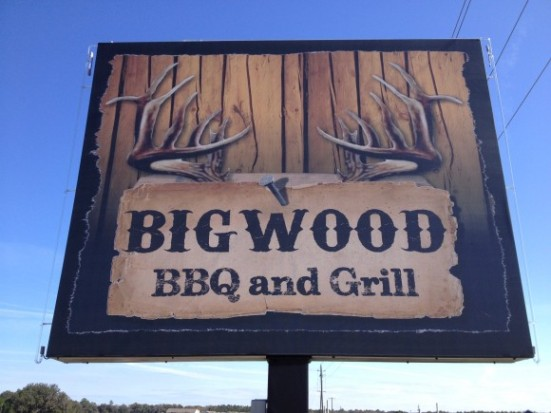Big Wood BBQ and Grill - Live Oak, FL - Photo by Mike Bonfanti