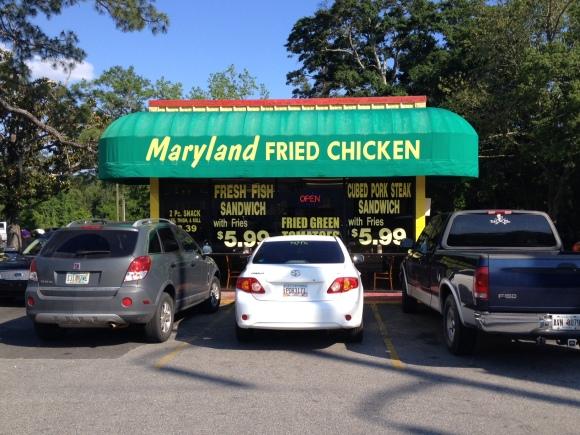 Maryland Fried Chicken - Thomasville, GA - Photo by Mike Bonfanti