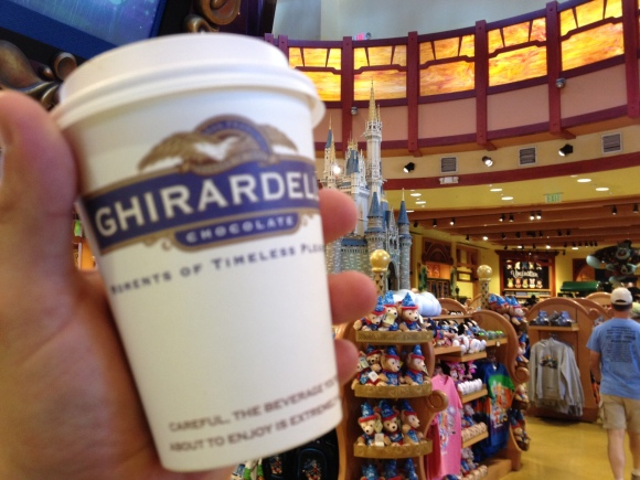 Ghiradelli Soda Fountain & Chocolate Shop - Orlando, FL - Photo by Mike Bonfanti