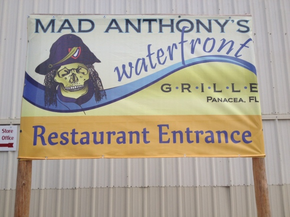 Mad Anthony's Waterfront Grille - Panacea, FL - Photo by Mike Bonfanti
