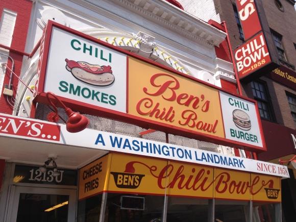 Ben's Chili Bowl - Washington, DC - Photo by Mike Bonfanti