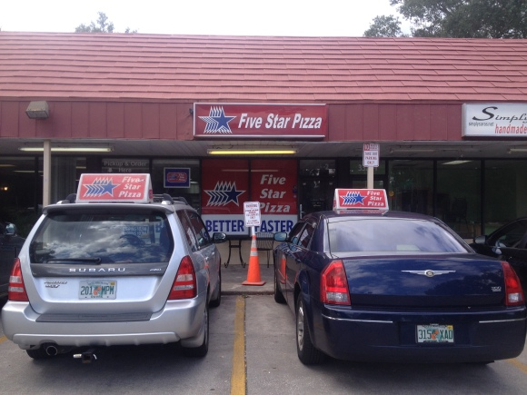 Five Star Pizza - Jacksonville, FL - Photo by Mike Bonfanti