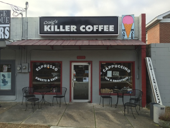 Craig's Killer Coffee - Tallahassee, FL - Photo by Mike Bonfanti