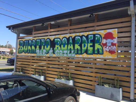 Burrito Boarder - Tallahassee, FL - Photo by Mike Bonfanti