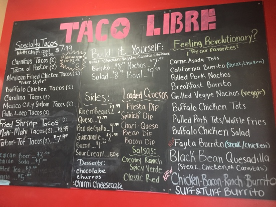 Taco Libre - Tallahassee, FL - Photo by Mike Bonfanti
